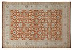 "6'1""x9'   Eunice Rug, Red"
