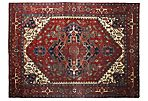 """9'10""""x14'  Chais Rug, Red"""