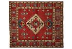 "5'8""x7'7"" Kazak Hand-Knotted Rug, Red"
