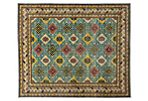 "8'3""x9'9"" Ziegler Hand-Knotted Rug, Blue"