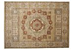 "9'x12'4"" Savannah Knotted Rug, Brown"