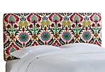 Novak Headboard, Pink/Multi