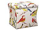 Hepburn Storage Ottoman, Birds