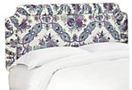 Pierre Headboard, Purple