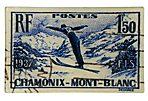 Ski Stamp Wall Plate