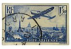 Airplane Stamp Wall Plate