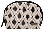 Concord Dome Cosmetic, Black/Tan