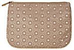 Large Bollywood Pouch, Beige