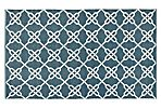 Thom Filicia Outdoor Rug, Ink