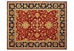 Vidal Rug, Red/Navy