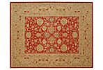 Lisbet Rug, Red/Ivory