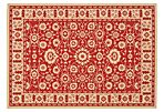 Wyatt Outdoor Rug, Red/Cream