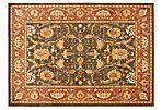 Fabia Rug, Brown/Rust