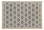 Joan Outdoor Rug, Gray