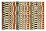 Rachel Flat-Weave Rug, Aqua/Multi