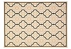 Basin Rug, Beige/Black