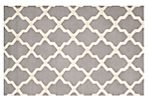 Mulberry Rug, Silver/Ivory