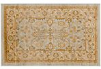 Bruna Rug, Light Gray/Gold