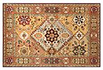 5'x8' Lindsi Rug, Red/Rust