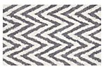 6'x9' Jane Shag Rug, Ivory/Gray