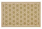 Joan Outdoor Rug, Green/Beige