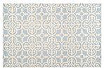 Packer Rug, Light Blue/Ivory