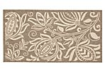 Noah Outdoor Rug, Brown/Natural