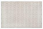 Selous Dhurrie, Gray/Ivory