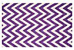 Shoshanna Rug, Purple/Ivory