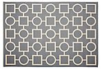 Eve Outdoor Rug, Anthracite
