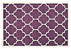 Tamako Rug, Purple/Ivory