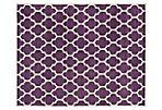 Taura Rug, Purple/Ivory