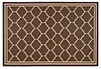 Kate Outdoor Rug, Chocolate
