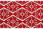 Orly Rug, Red/Ivory