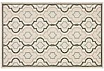 Basin Outdoor Rug, Ivory