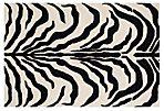 Kenzie Rug, Ivory/Black