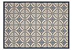 Willow Outdoor Rug, Beige/Navy
