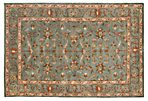 3'x5' Holly Rug, Blue