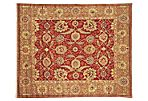Goshen Rug, Red/Green