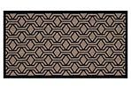 Lasalle Outdoor Rug, Brown/Black