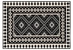 Pierce Outdoor Rug, Black