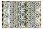 Dawson Outdoor Rug, Green/Blue