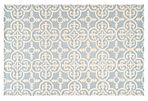 Packer Rug, Light Blue/Ivory