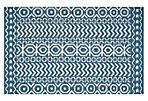 Adella Flat-Weave Rug, Blue