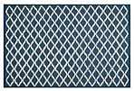 Claire Rug, Navy/Ivory