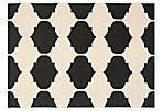 Kai Outdoor Rug, Beige/Black
