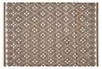 Annie Flat-Weave Rug, Mocha