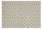 Peri Outdoor Rug, Cream/Green