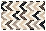 Marchy Rug, Ivory/Black