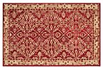 Charna Rug, Red/Ivory